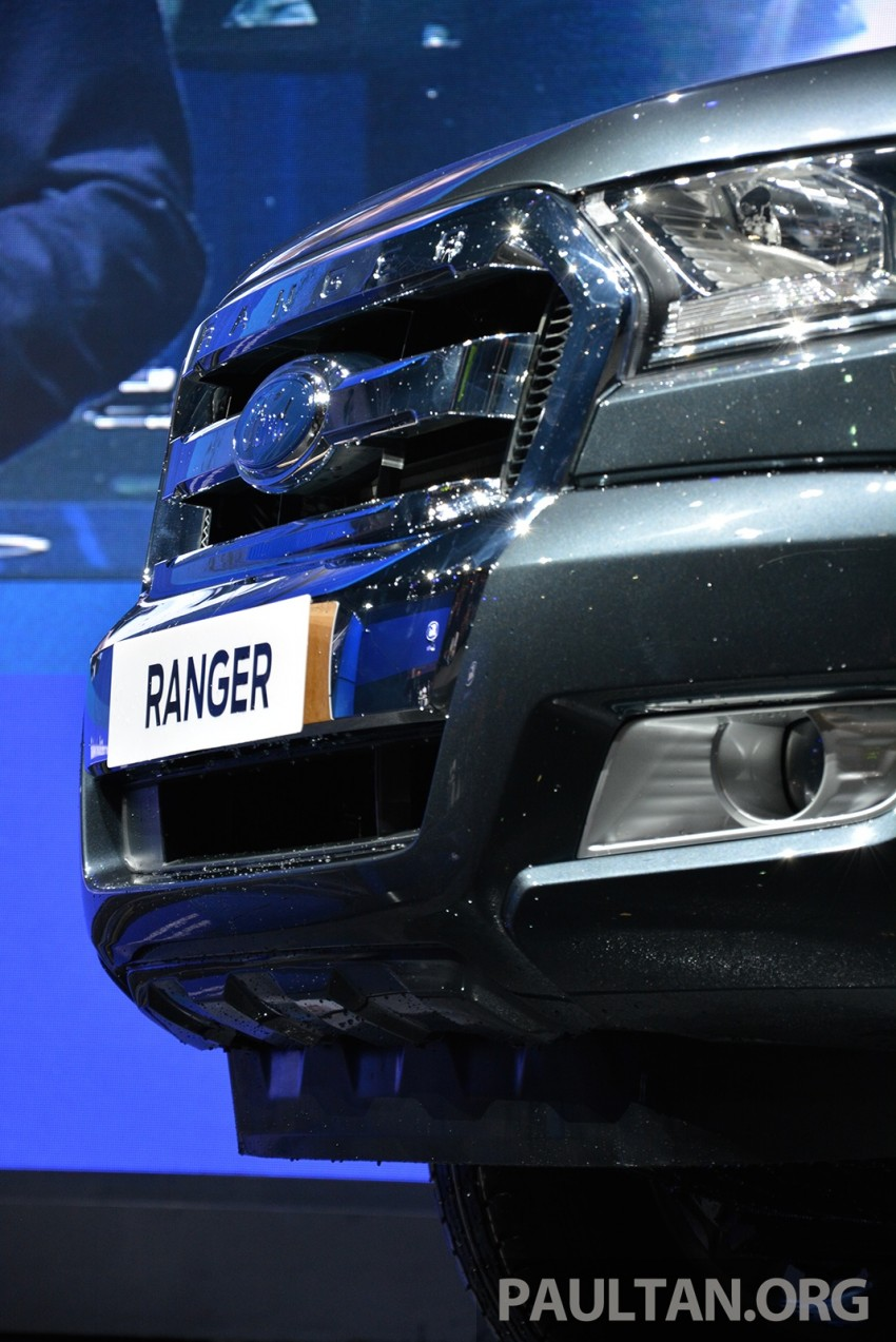 2015 Ford Ranger makes world debut in Thailand Image #320436