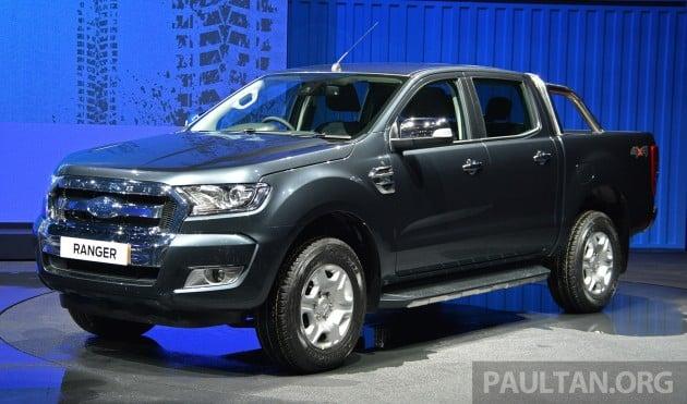 Ford Ranger Facelift BKK 2015 16