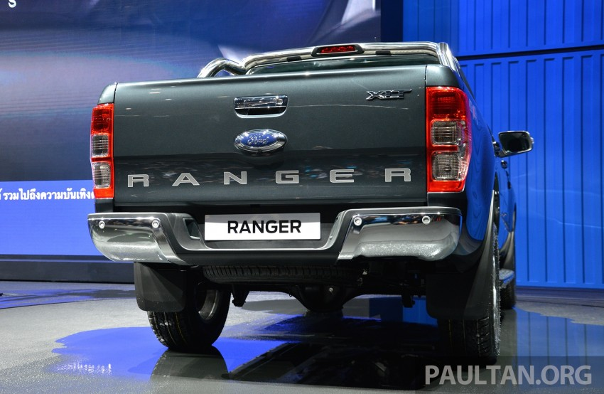 2015 Ford Ranger makes world debut in Thailand Image #320439