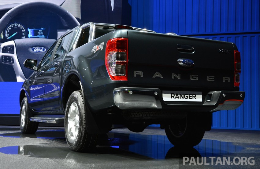 2015 Ford Ranger makes world debut in Thailand Image #320440