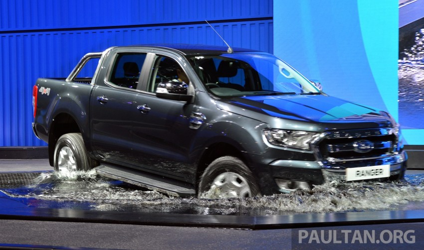 2015 Ford Ranger makes world debut in Thailand Image #320423