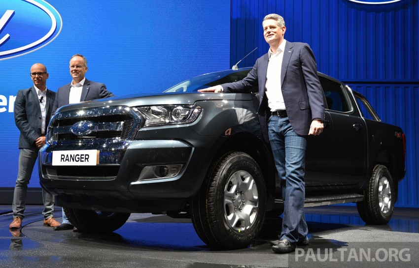2015 Ford Ranger makes world debut in Thailand Image #320442