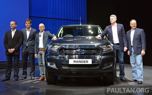 Ford Ranger Facelift BKK 2015 22
