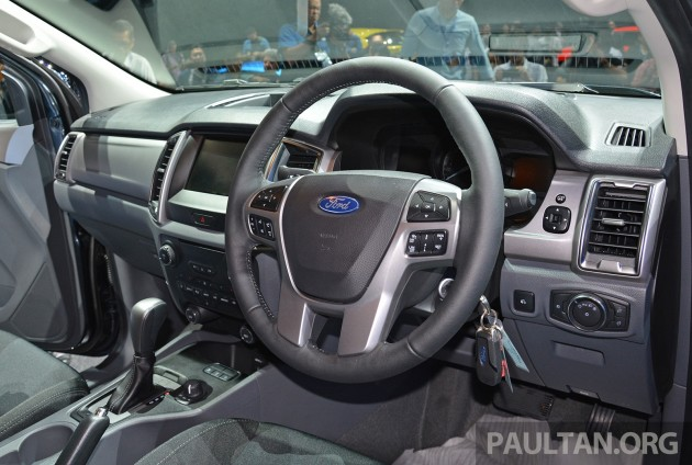 Ford Ranger Facelift BKK 2015 29