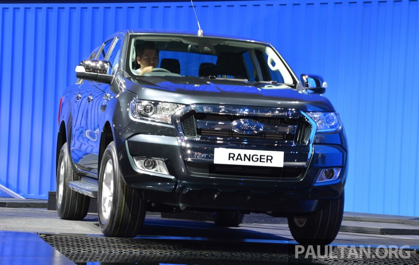 2015 Ford Ranger makes world debut in Thailand Image #320424