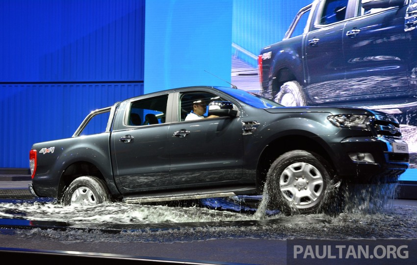 2015 Ford Ranger makes world debut in Thailand Image #320425