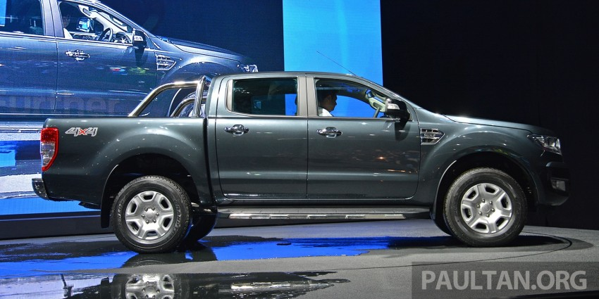 2015 Ford Ranger makes world debut in Thailand Image #320427