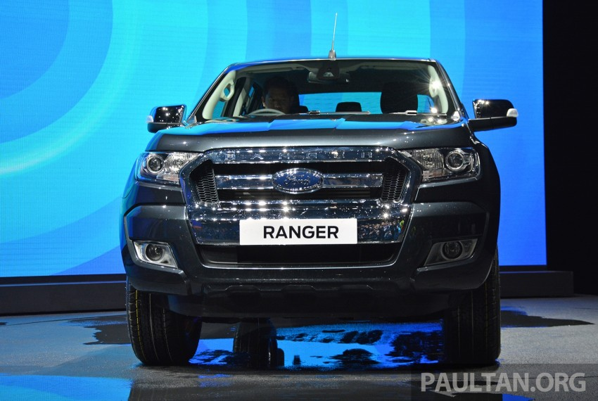 2015 Ford Ranger makes world debut in Thailand Image #320429