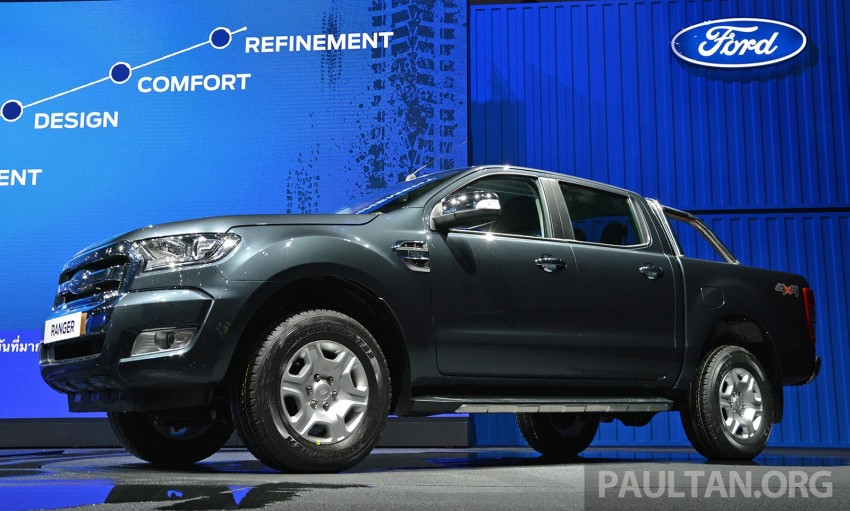 2015 Ford Ranger makes world debut in Thailand Image #320430