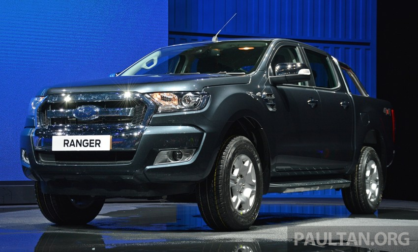 2015 Ford Ranger makes world debut in Thailand Image #320431