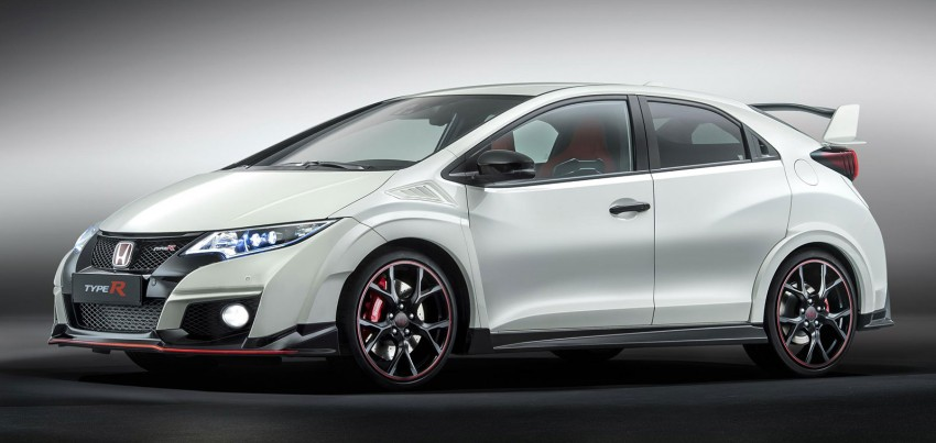 OFFICIAL: New Honda Civic Type R revealed in Geneva – 2.0L VTEC Turbo with 310 PS, 400 Nm! Image #315020