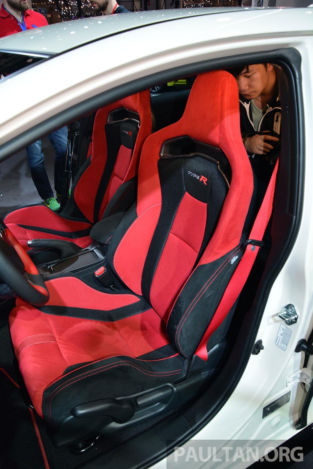 Honda Civic 2018 >> GALLERY: Honda Civic Type R debuts at Geneva 2015 Paul Tan - Image 316042