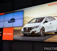 Honda Civic Type R Geneva Live 50
