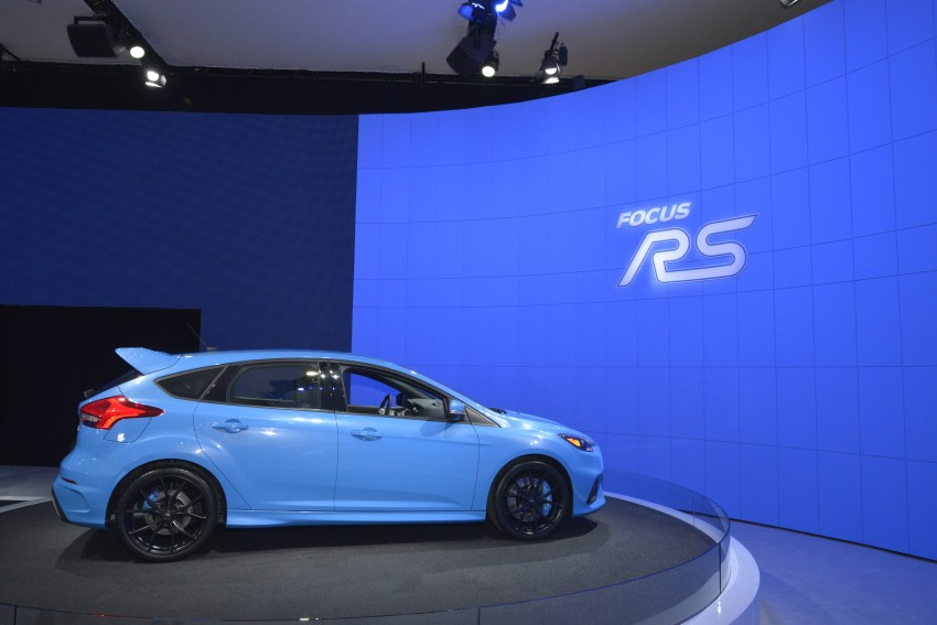 GALLERY: Ford Focus RS world premiere at Geneva Image #324627