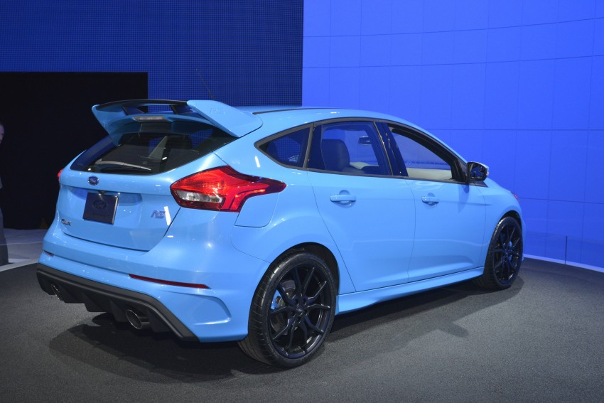 GALLERY: Ford Focus RS world premiere at Geneva Image #324625