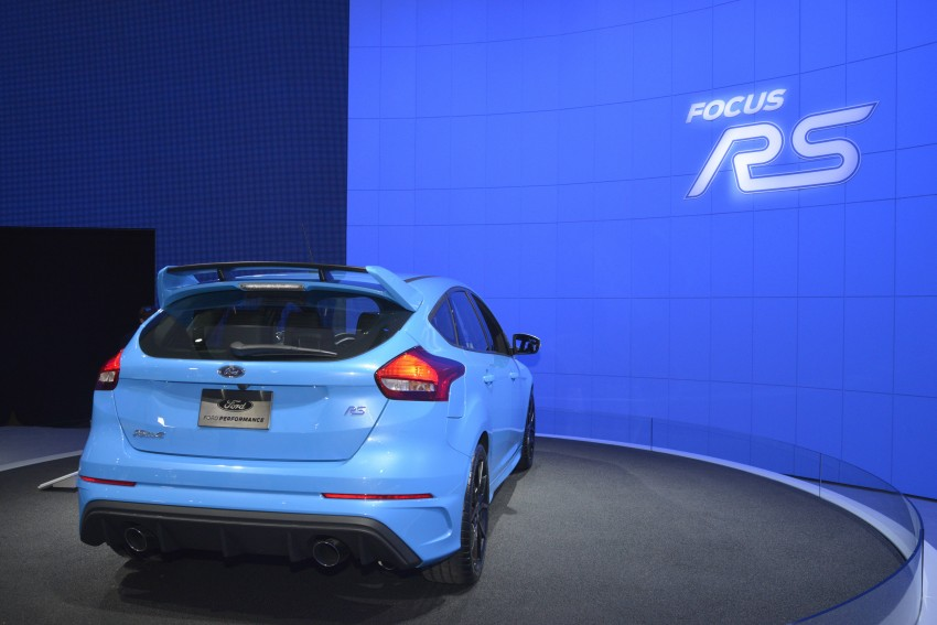 GALLERY: Ford Focus RS world premiere at Geneva Image #324624