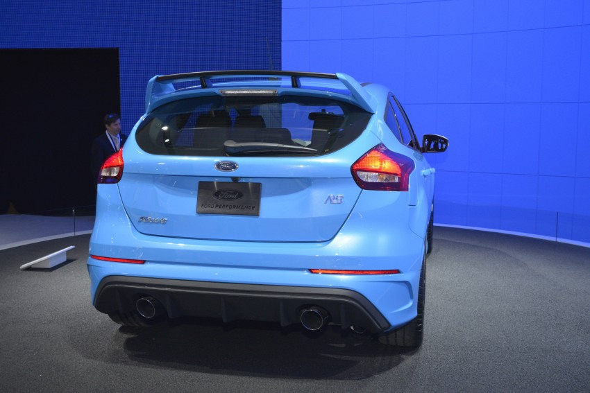 GALLERY: Ford Focus RS world premiere at Geneva Image #324614
