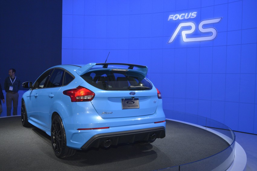GALLERY: Ford Focus RS world premiere at Geneva Image #324626