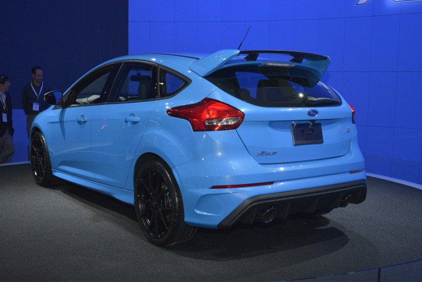 GALLERY: Ford Focus RS world premiere at Geneva Image #324619
