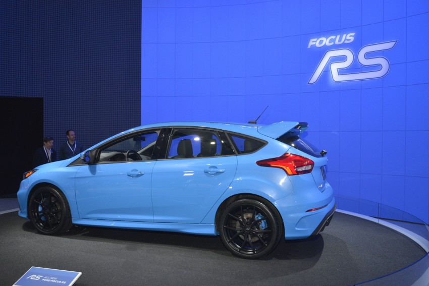 GALLERY: Ford Focus RS world premiere at Geneva Image #324623