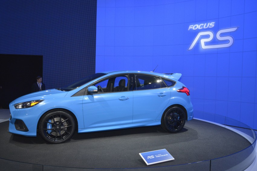 GALLERY: Ford Focus RS world premiere at Geneva Image #324616