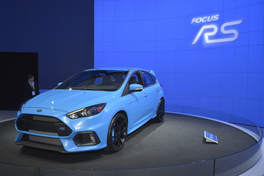 GALLERY: Ford Focus RS world premiere at Geneva Image #324609