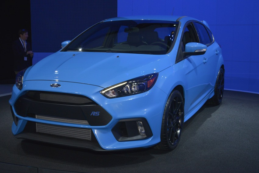 GALLERY: Ford Focus RS world premiere at Geneva Image #324618