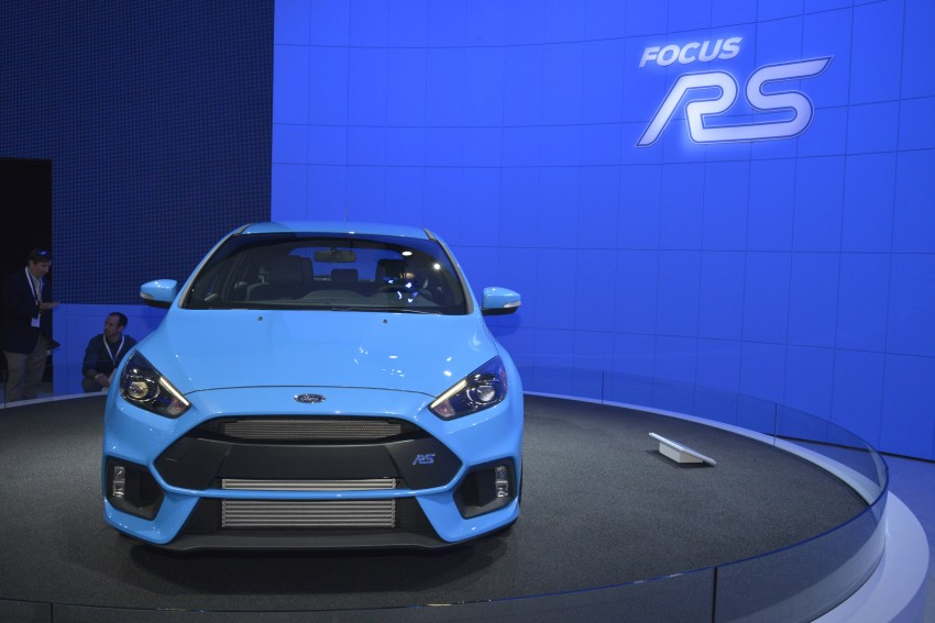 GALLERY: Ford Focus RS world premiere at Geneva Image #324610