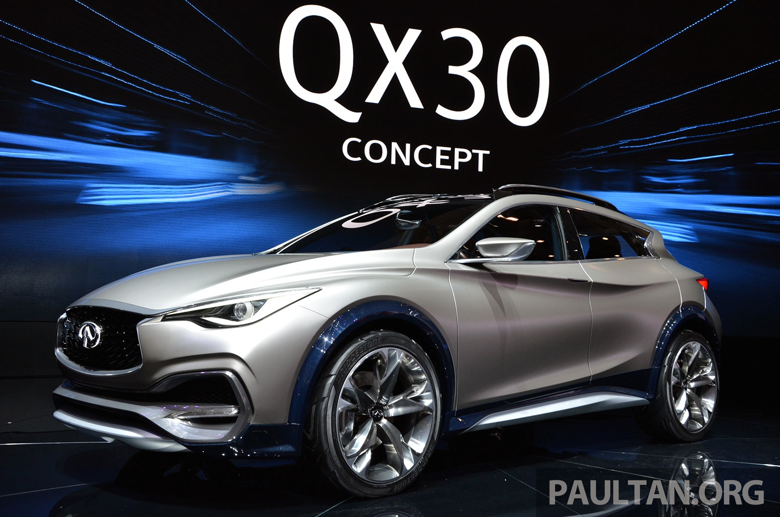 gallery infiniti qx30 compact crossover previewed. Black Bedroom Furniture Sets. Home Design Ideas