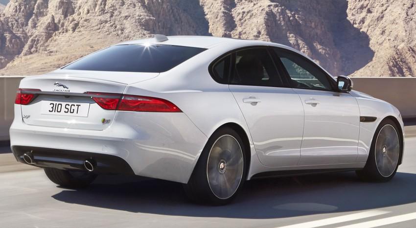 2016 Jaguar XF revealed – 2nd gen up to 190 kg lighter Image #321109
