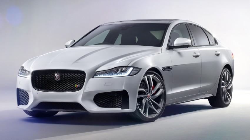 2016 Jaguar XF revealed – 2nd gen up to 190 kg lighter Image #321112