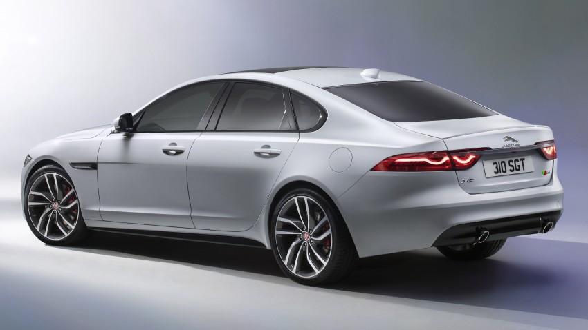 2016 Jaguar XF revealed – 2nd gen up to 190 kg lighter Image #321114