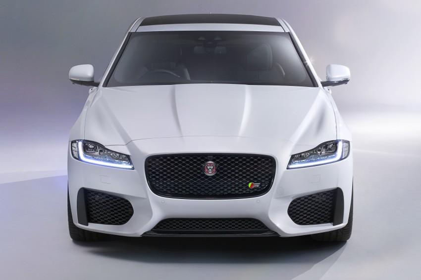 2016 Jaguar XF revealed – 2nd gen up to 190 kg lighter Image #321115
