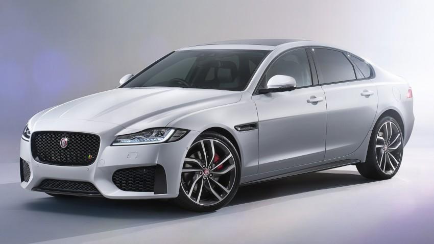 2016 Jaguar XF revealed – 2nd gen up to 190 kg lighter Image #321116