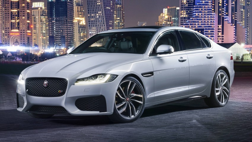 2016 Jaguar XF revealed – 2nd gen up to 190 kg lighter Image #321117