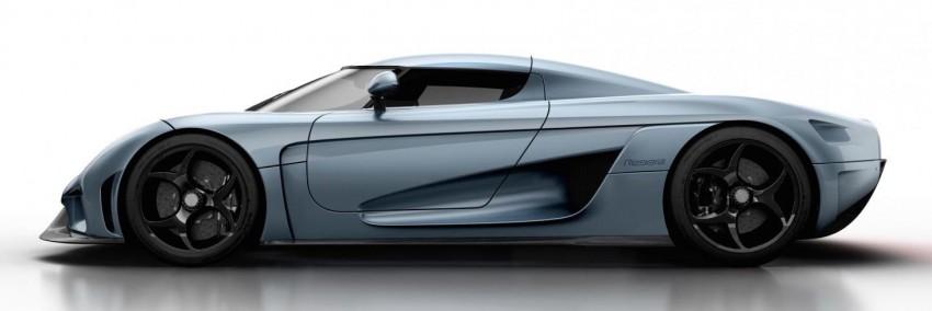 Koenigsegg Regera gets over 1,500 hp and 2,000 Nm Image #316104