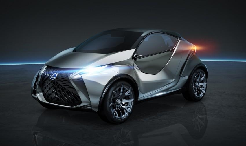 Lexus LF-SA – 2+2 city car study debuts in Geneva Image #315870