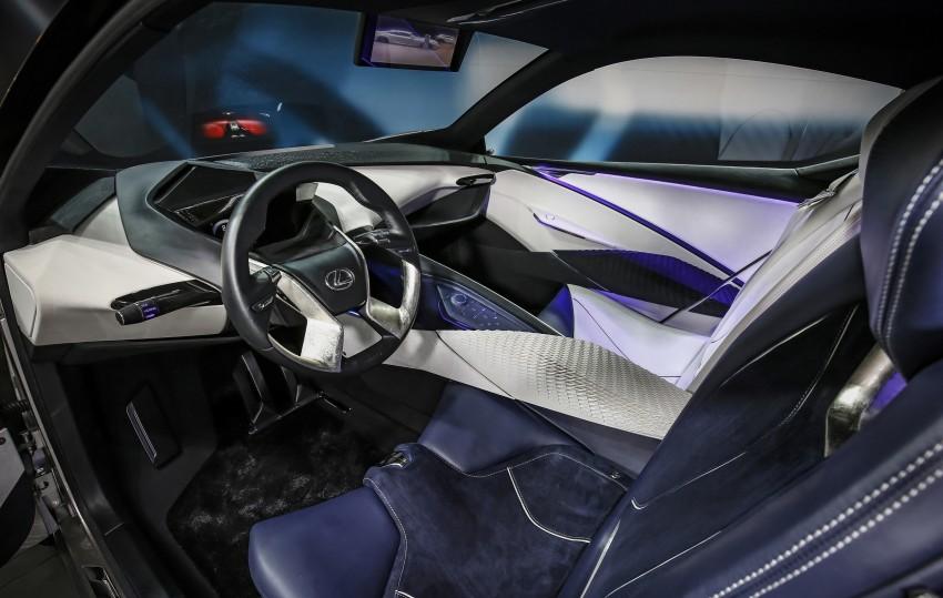 Lexus LF-SA – 2+2 city car study debuts in Geneva Image #315862