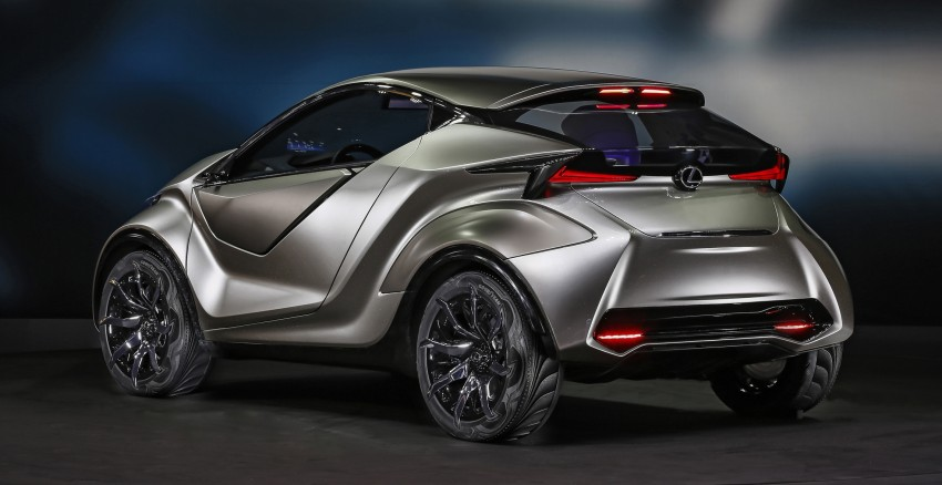 Lexus LF-SA – 2+2 city car study debuts in Geneva Image #315860