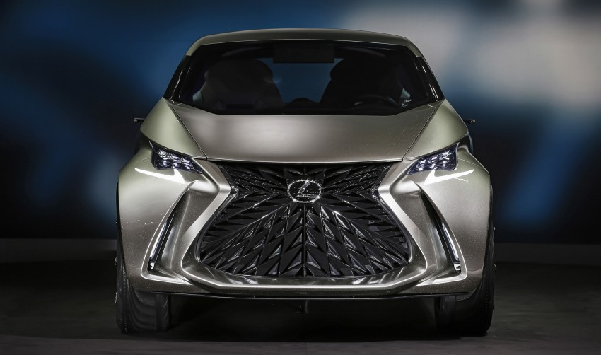 Lexus LF-SA – 2+2 city car study debuts in Geneva Image #315858