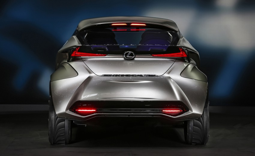Lexus LF-SA – 2+2 city car study debuts in Geneva Image #315857