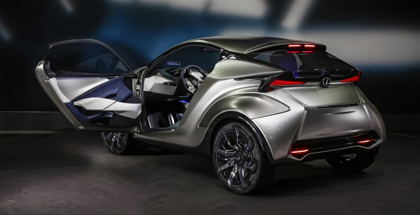 Lexus LF-SA – 2+2 city car study debuts in Geneva Image #315856