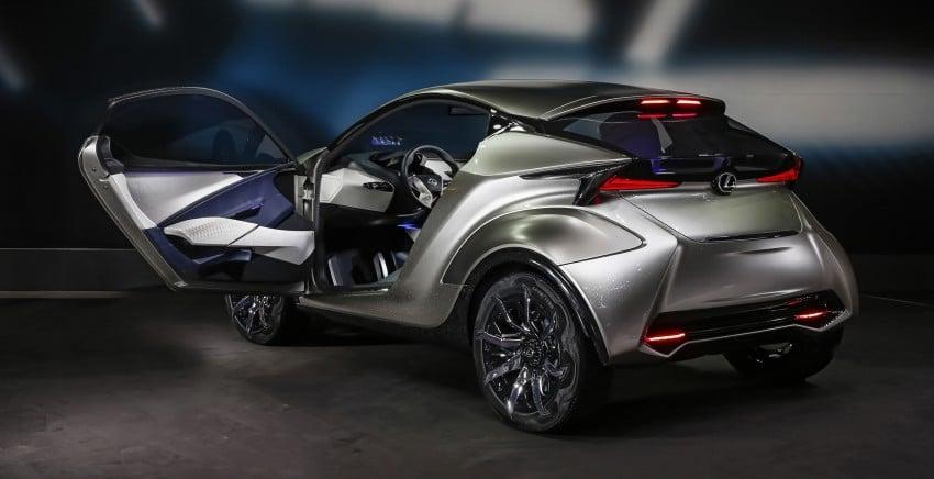 Lexus LF-SA – 2+2 city car study debuts in Geneva Image #315856