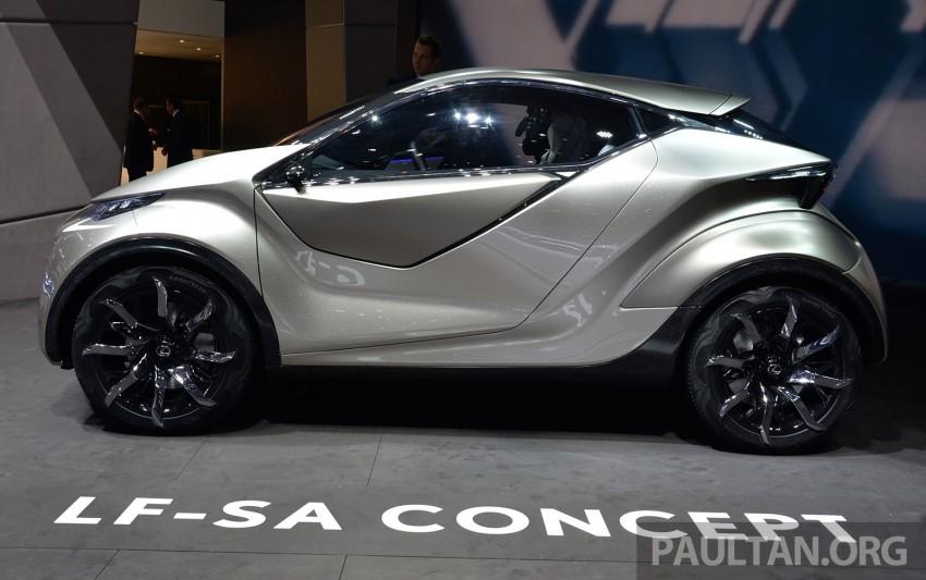 Lexus LF-SA – 2+2 city car study debuts in Geneva Image #315938