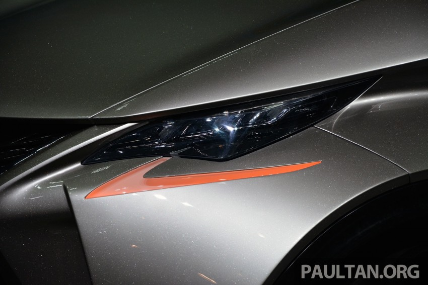 Lexus LF-SA – 2+2 city car study debuts in Geneva Image #315939