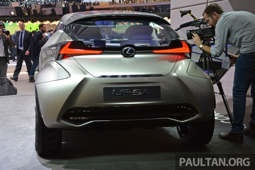 Lexus LF-SA – 2+2 city car study debuts in Geneva Image #315940