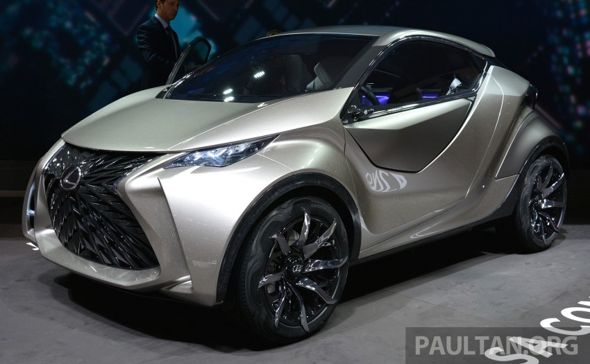 Lexus LF-SA – 2+2 city car study debuts in Geneva Image #315942
