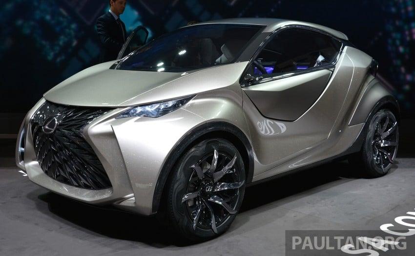 Lexus LF-SA – 2+2 city car study debuts in Geneva Image #315942