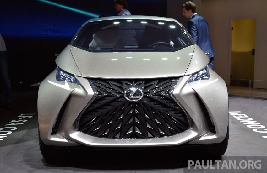 Lexus LF-SA – 2+2 city car study debuts in Geneva Image #315944