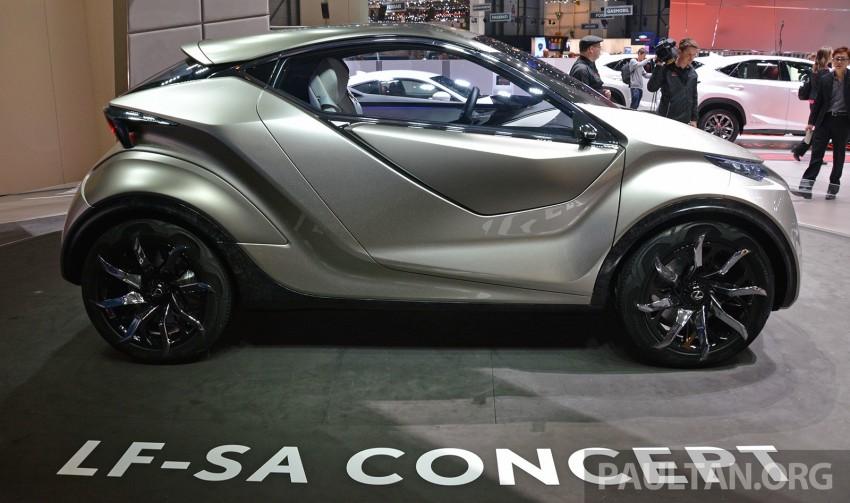 Lexus LF-SA – 2+2 city car study debuts in Geneva Image #315932